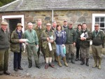 Labrador Club of Scotland spring gun dog test
