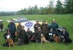 United Retriever Club North Midland Area gun dog test
