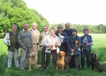 Hampshire Gun Dog Society novice working test